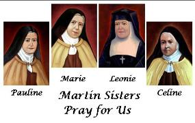 Martin Sisters Holy Cards