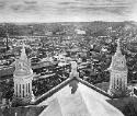 Panoramic view of the city of Lisieux photographed from the cupola - July 17, 1937